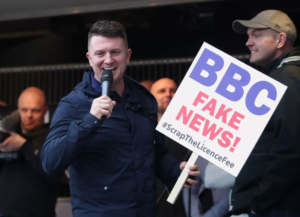 Tommy Robinson Exposes BBC Fake News